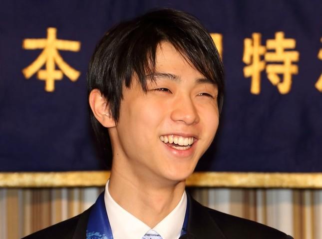 羽生結弦選手(2014年/J-CASTニュース撮影)