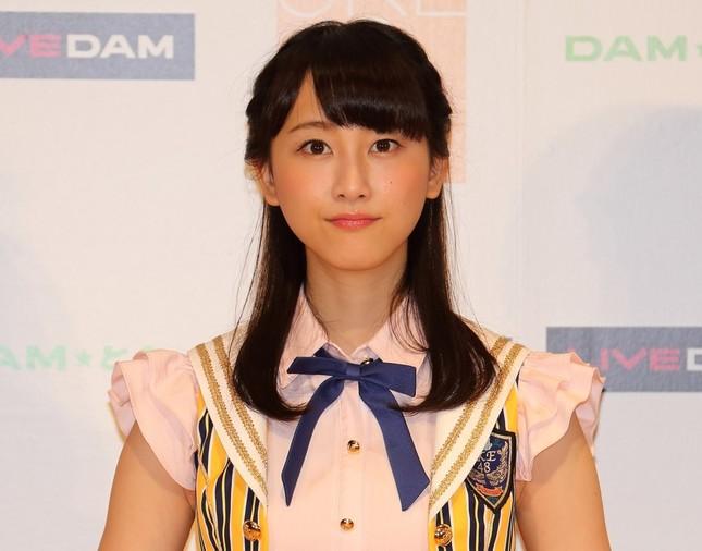 アイドル時代の松井玲奈さん(2014年7月撮影)