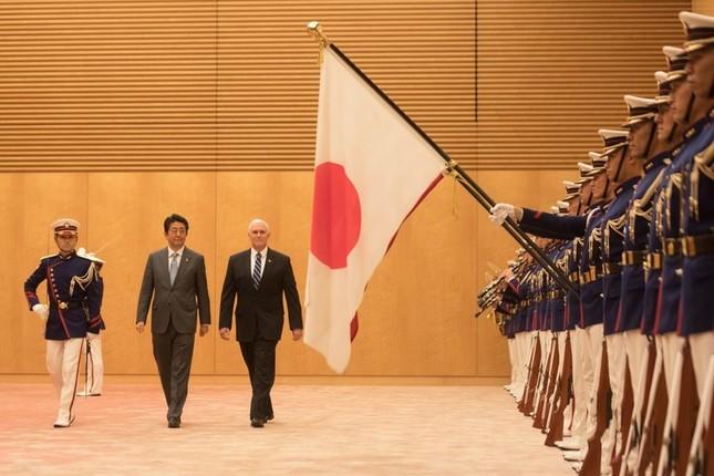 ペンス氏が東京で「かつてない、厳しい制裁を発表する」などと発言したことが会談「ドタキャン」の理由だとみられている(写真はホワイトハウスのウェブサイトから)