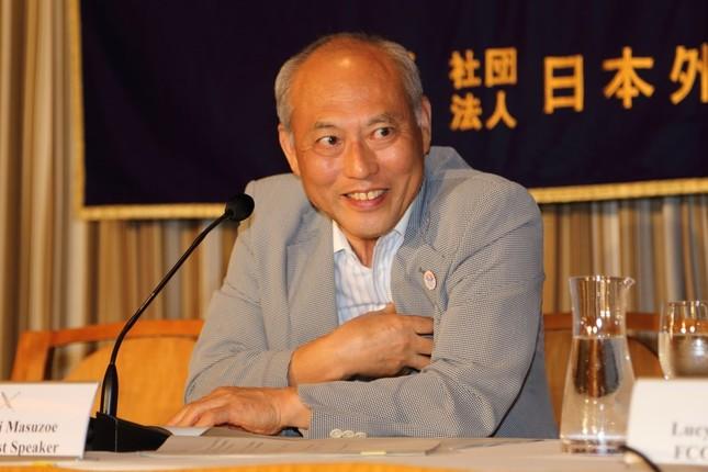 都知事時代の舛添氏(2014年)