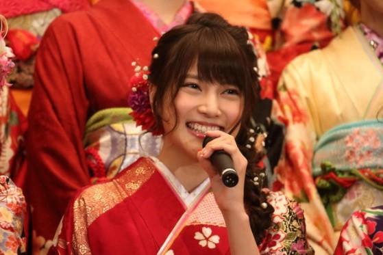 入山杏奈さん(16年1月撮影)