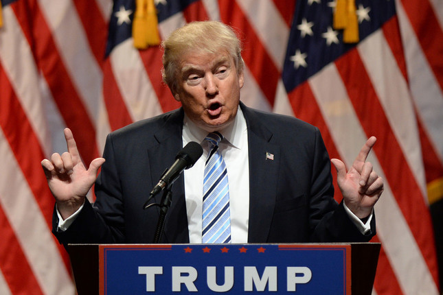 鉄鋼などに関税をかけるとしたトランプ大統領((C)FAMOUS)
