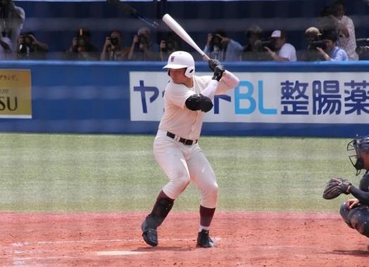 早実時代の清宮幸太郎選手(2017年7月撮影)