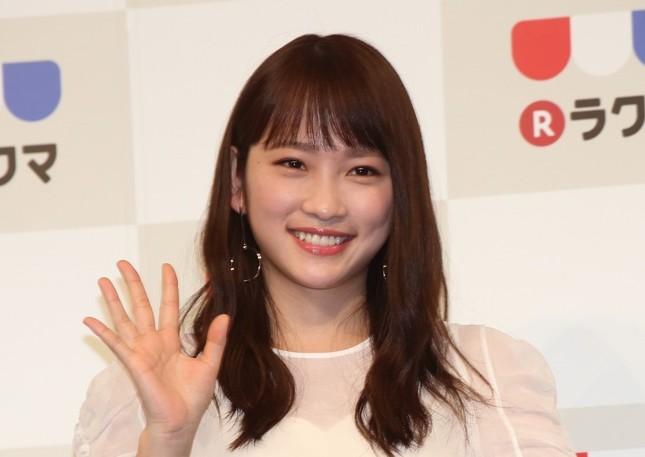川栄李奈さん(2018年3月撮影)
