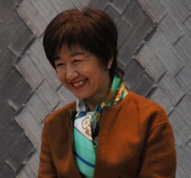 谷岡郁子氏(2012年12月撮影。当時参院議員)