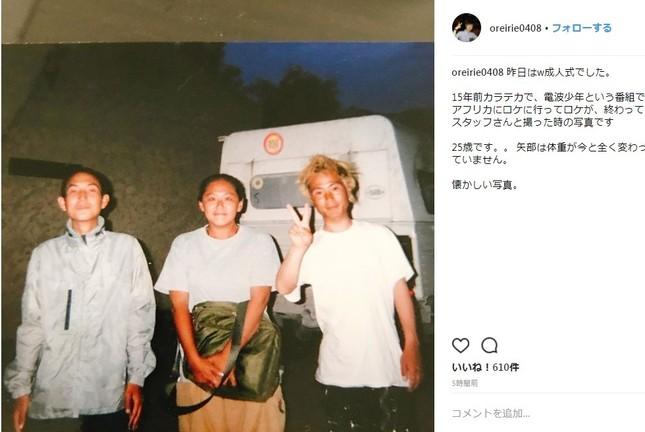 15年前の「カラテカ」の2人。入江さんは金髪だ(写真は入江さんのInstagramより)