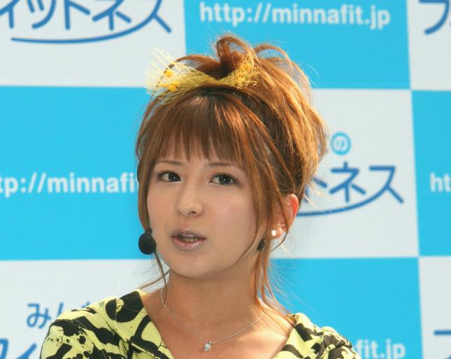 矢口真里さん(写真は2008年4月撮影)