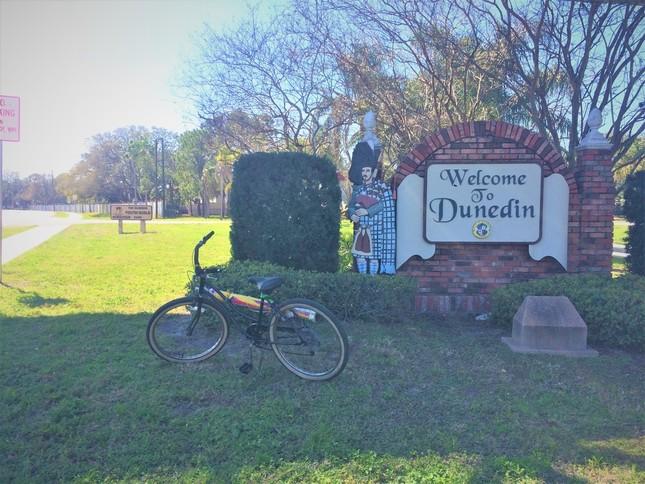 ダニーデンにバケーションで来ていた私に、ジェリーの夫アルは親切に自分の自転車を貸してくれた
