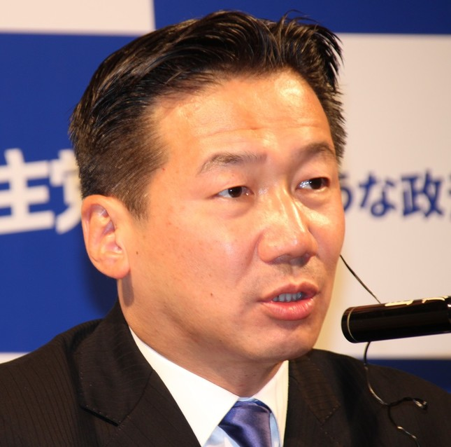 福山哲郎幹事長(2017年10月撮影)