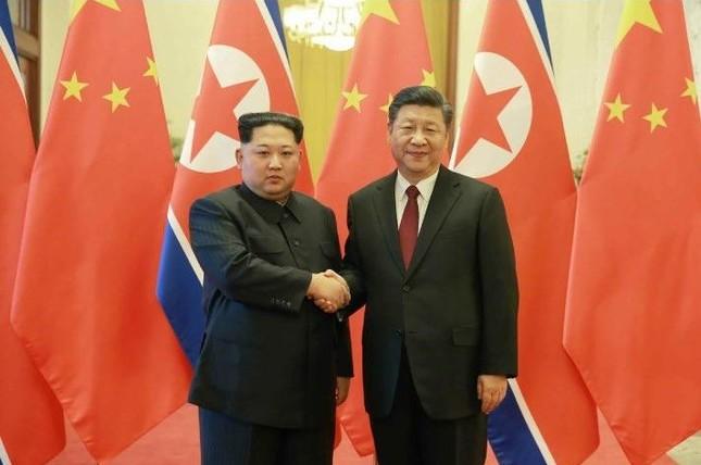 金正恩氏が中国を電撃訪問し、習近平国家主席と会談した(写真は労働新聞から)