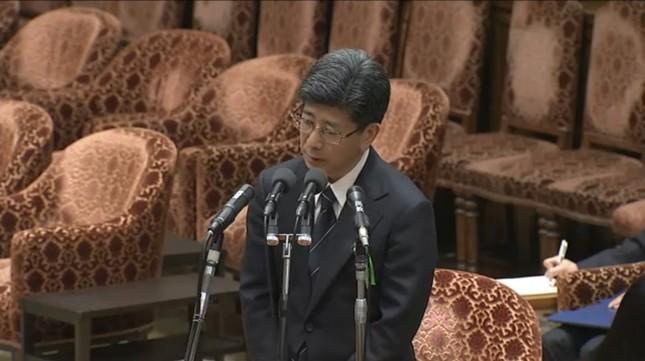 3月27日に証人喚問に立った佐川宣寿氏・前国税庁長官(衆議院インターネット審議中継から)