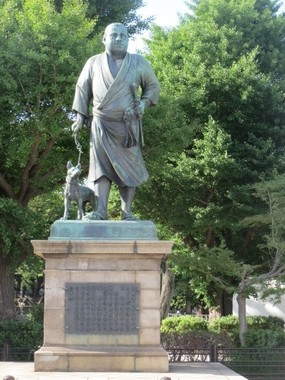 上野恩賜公園の西郷隆盛像