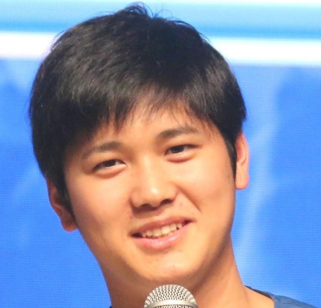 大谷翔平選手(2017年1月撮影)