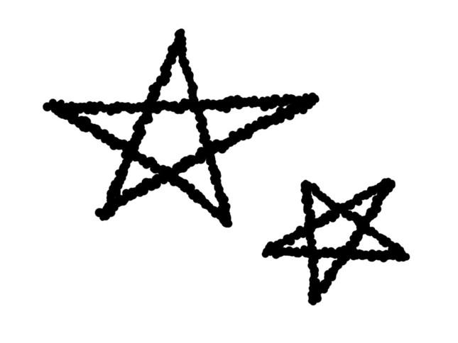 五芒星の描き方は人によって違う?(写真はイメージ)
