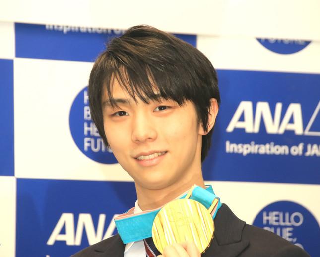 羽生結弦選手(写真は2018年2月撮影)