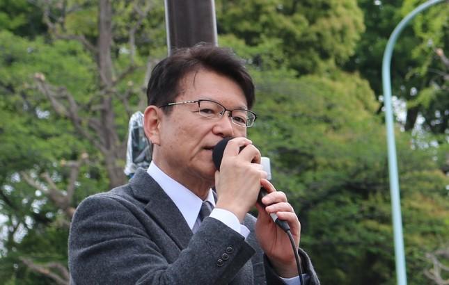 立憲民主党の長妻昭氏