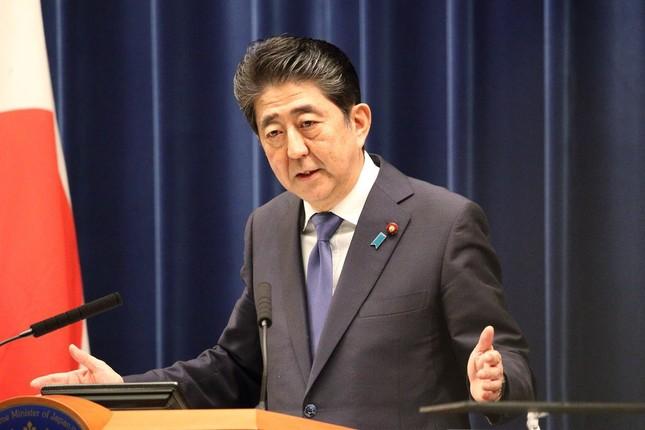 働き方改革を推進する安倍晋三内閣(写真は2017年9月撮影)