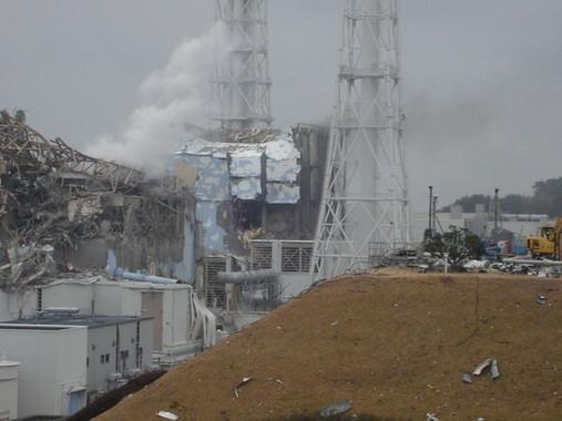 東日本大震災では『福島第一』をはじめとした、複数の原子力発電所が大きな被害にあった(画像は東京電力の公式サイトより、2011年3月15日撮影)