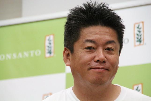 堀江貴文さん(17年9月撮影)