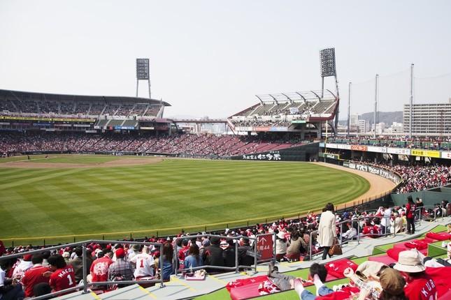 広島カープの本拠地マツダスタジアム