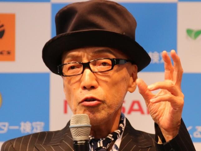 テリー伊藤さん(2016年9月撮影)
