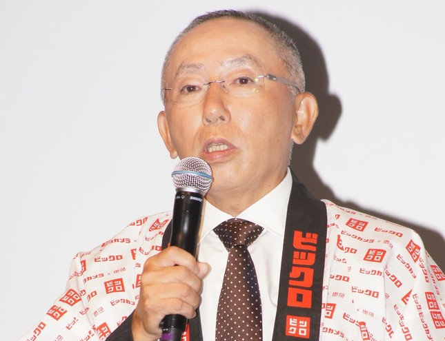 柳井正氏(写真は2012年撮影)