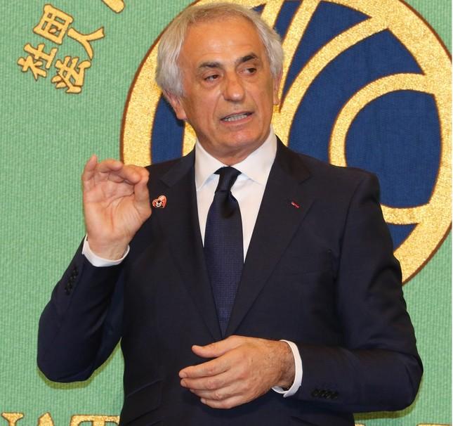 バヒド・ハリルホジッチ前日本代表監督(2018年4月27日、日本記者クラブの会見で)