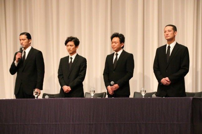 山口さん以外のTOKIO4人は5月2日に会見した