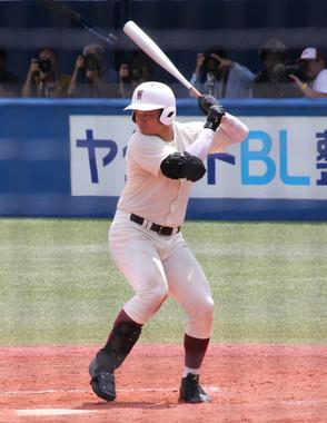 清宮幸太郎内野手(写真は早稲田実業高時代。2017年7月撮影)