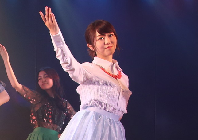 AKB48の峯岸みなみさん(2017年7月撮影)
