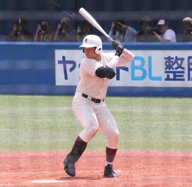 清宮幸太郎選手はスター・ウォーズ好き(写真は2017年7月の早稲田実業高時代)