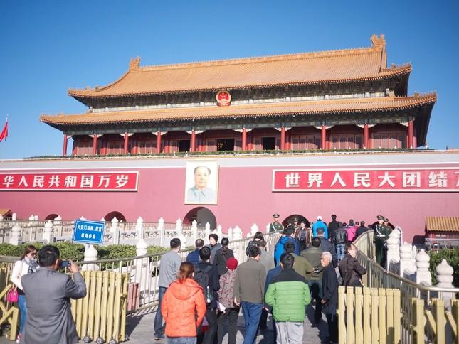 中国ZTEは国内からも非難を浴びている (写真は2014年撮影の天安門)