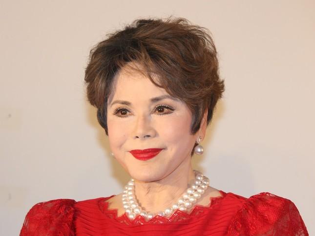 デヴィ夫人(写真は2017年8月撮影)
