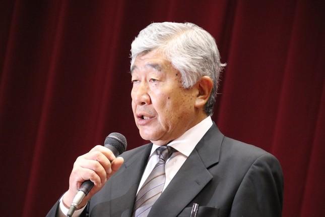 内田正人・前監督(2018年5月23日)