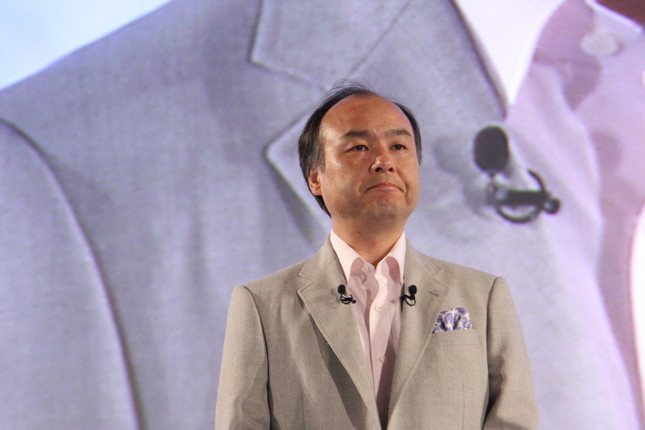 孫正義氏(2013年撮影)