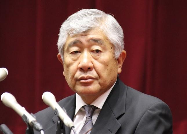 関東学連から「除名」処分を決定した内田正人監督(2018年5月23日撮影)