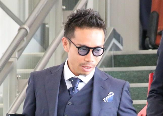 長友佑都選手(2018年6月2日撮影)