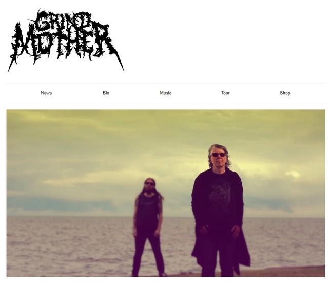 「THE GRINDMOTHER」の2人(写真はバンドのホームページから)