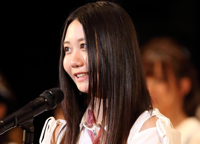 2017年の選抜総選挙で古畑奈和さんは14位だった