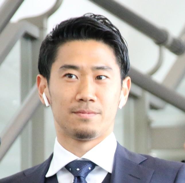 香川真司選手(写真は2018年6月2日撮影)