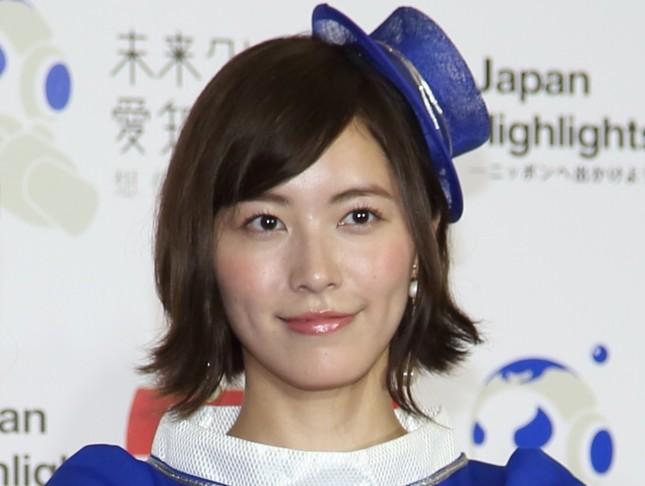 松井珠理奈さん(2017年撮影)