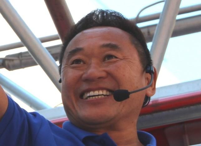 サッカー解説者の松木安太郎さん(2014年撮影)