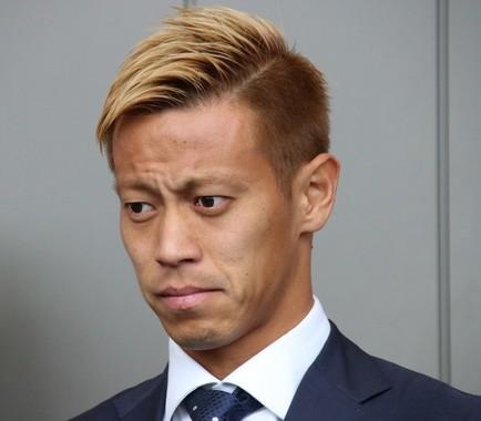 セネガル戦で同点ゴールを決めた本田圭佑選手