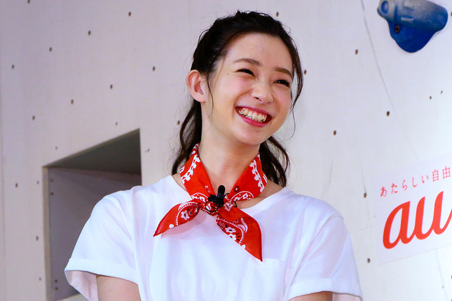 足立さん(16年8月撮影)