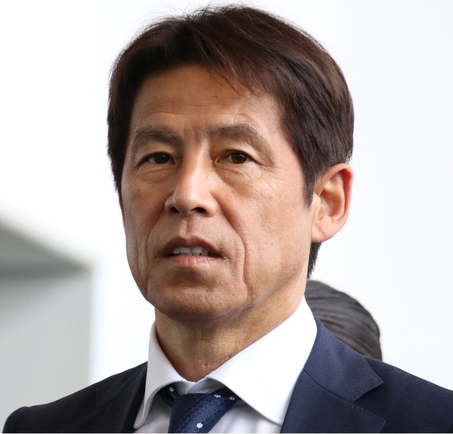 サッカー日本代表の西野朗監督