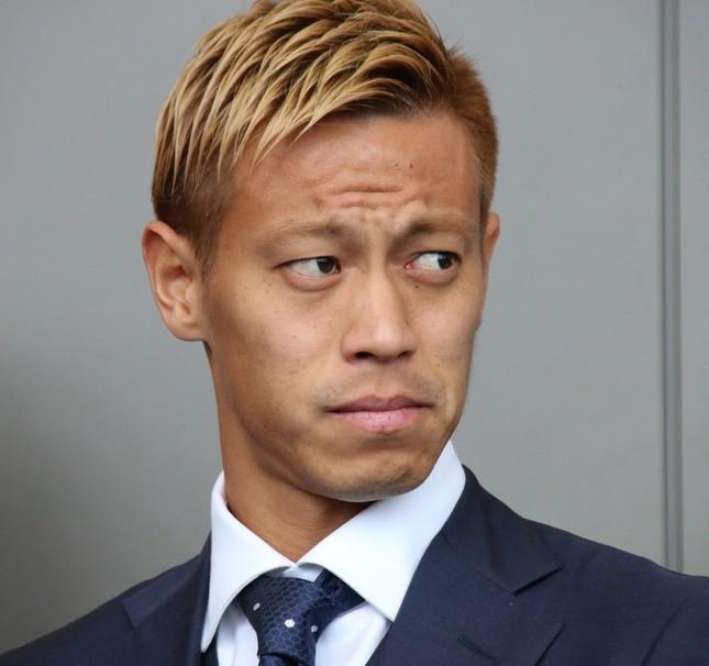 日本代表を長く牽引してきた本田圭佑選手(18年6月撮影)
