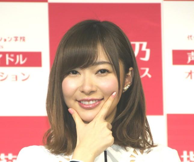 指原莉乃さん(写真は2017年1月撮影)