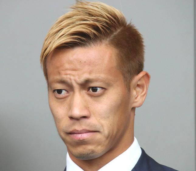 本田圭佑選手(写真は2018年6月撮影)