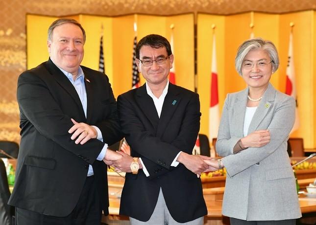 日米韓3か国の外相はCVIDとFFVDの「違いはない」と説明している(写真は外務省ウェブサイトから)