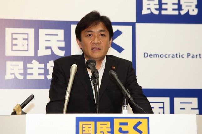 定例会見に臨む国民民主党の玉木雄一郎共同代表。「『永田町のユーチューバー』になりたい」発言の真意を説明した